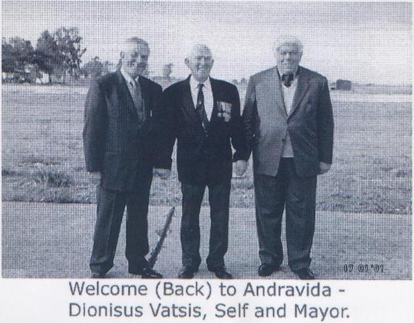 WELCOME BACK TO ANDRAVIDA